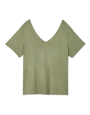 2WAY Minimalist Cotton Top