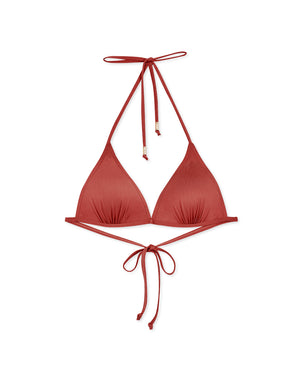 (XL, 2L) Plain Single Tie Strap Bikini Swimwear Top