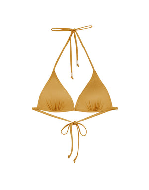 Plain Single Tie Strap Bikini Swimwear Top + Free Body Jewelry