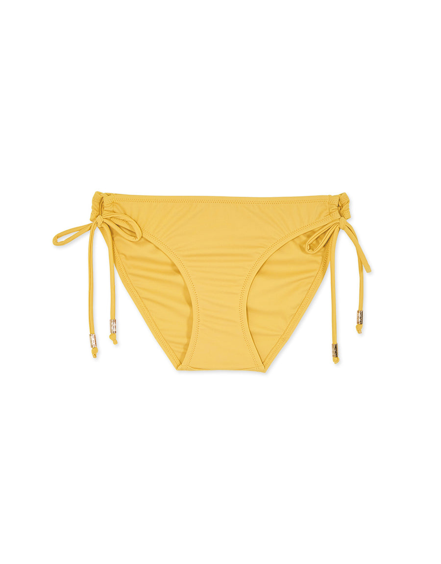 Plain Side Tie Bikini Bottom