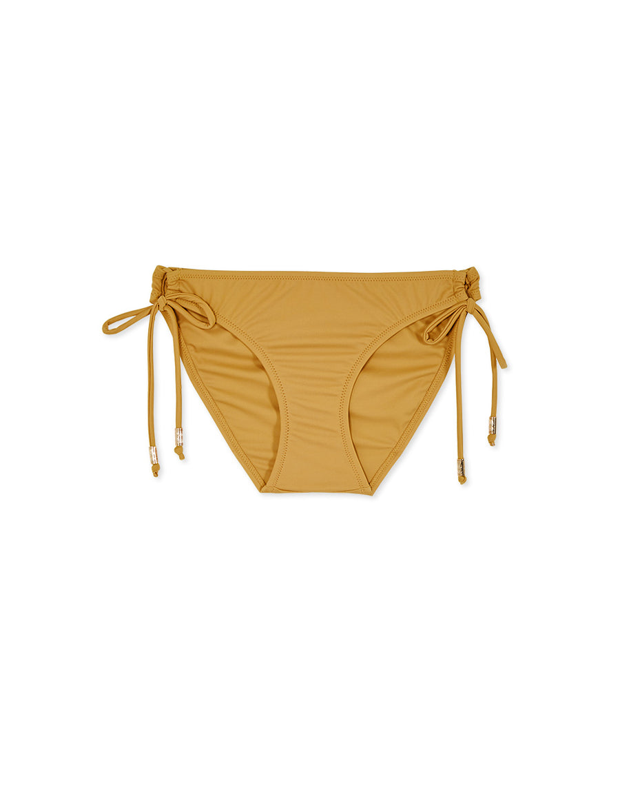 Plain Side Tie Bikini Bottoms