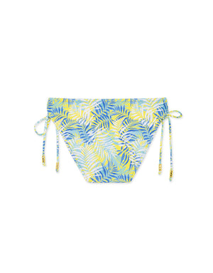 Printed Side Tie Bikini Bottom
