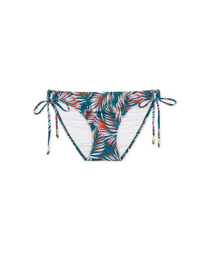 (XL) Printed Side Tie Bikini Bottom