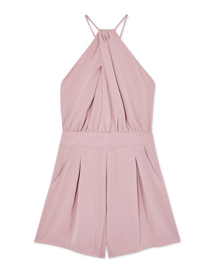 Wrap Halter Neck Playsuit