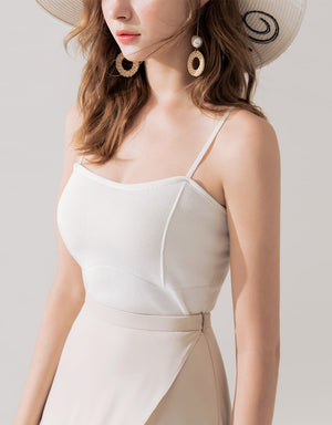 ALL-MATCH Ribbed Crop Camisole