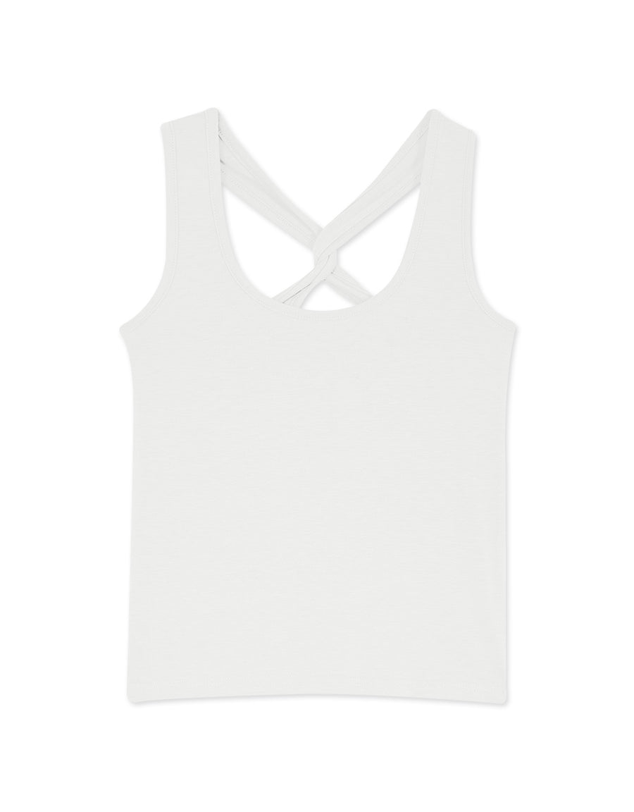 Crossover Back U Neck Camisole
