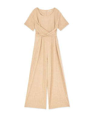 Ribbon Thin Jumpsuit