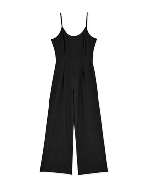 Hollow Strappy Back Cami Jumpsuit