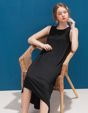 Minimalist Cotton Knot Dress