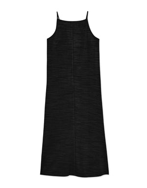 Textured Halter Neck Knitted Dress