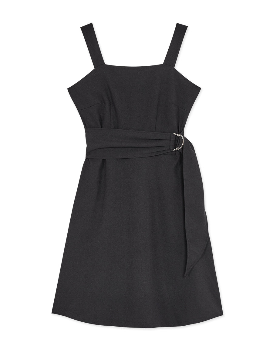 Square Neck Thick Strap Dress