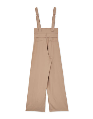 High Waisted Button Up Jumpsuit