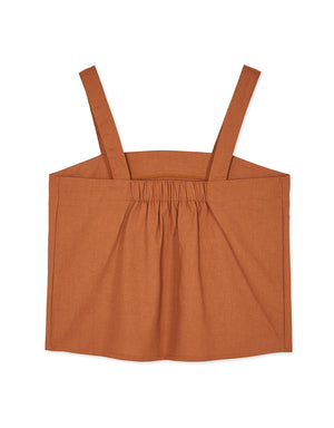 2WAY Thick Strap Square Neck Camisole