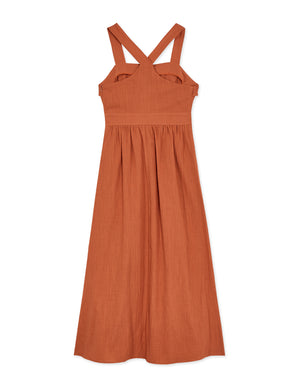 Elegant Ruffle Wide Strap Dress