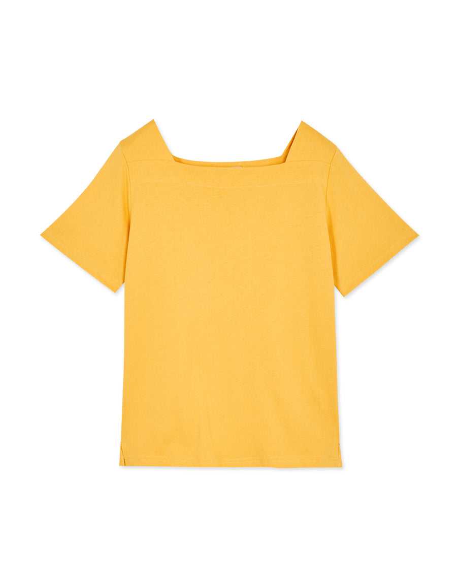 Wide Square Neck Top