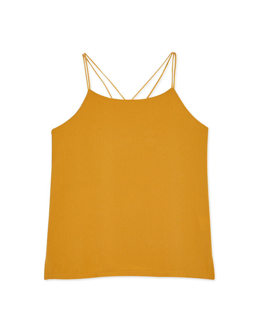 Double Straps Crossback Cami Top