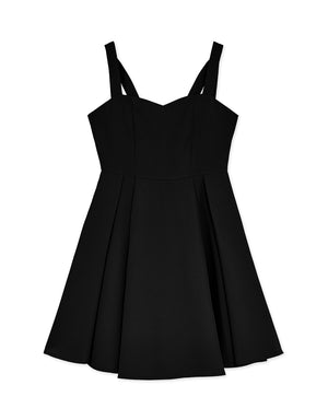 Minimalist Wide Strap Dress