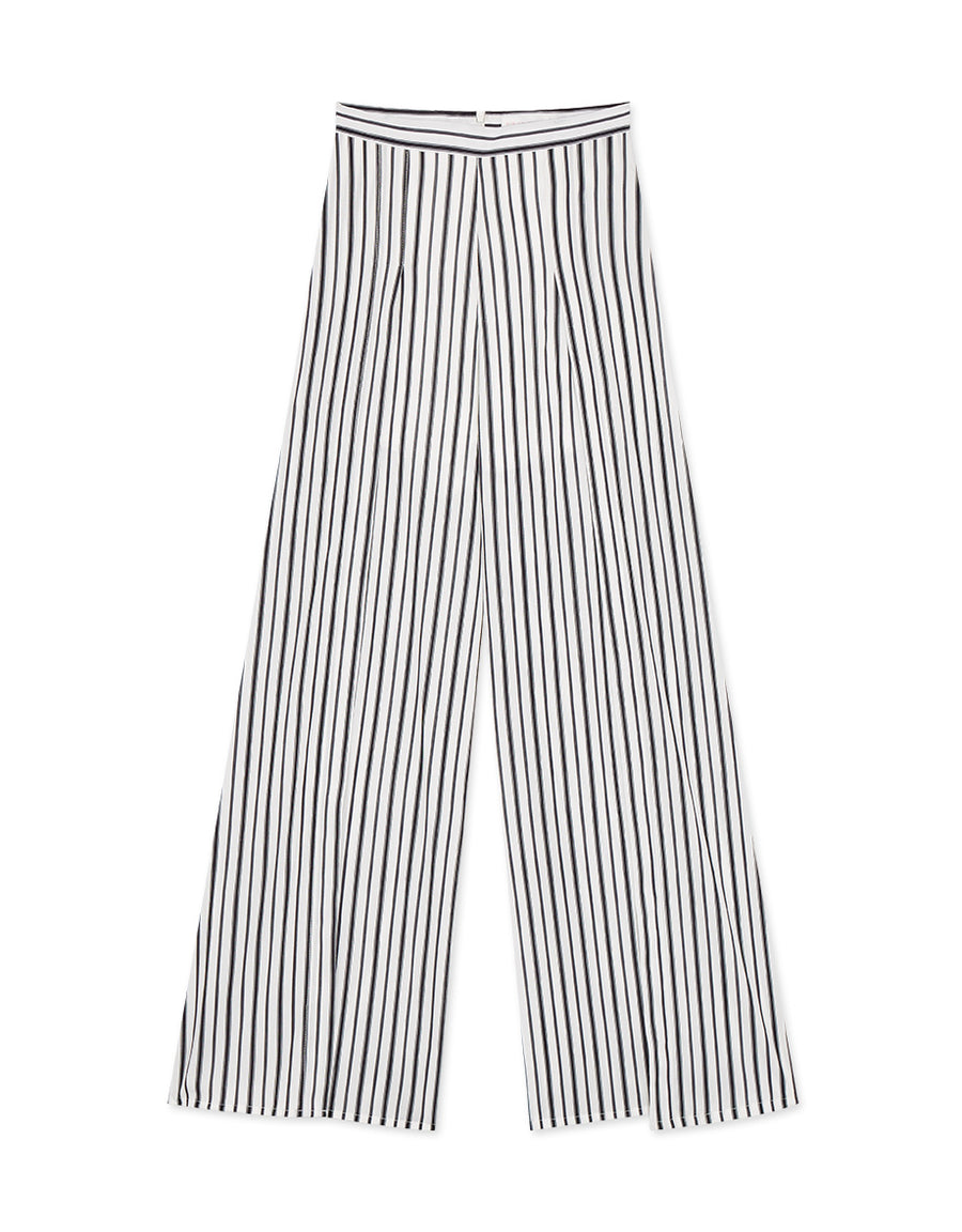 SEXY SLIT WIDE LEG PANTS