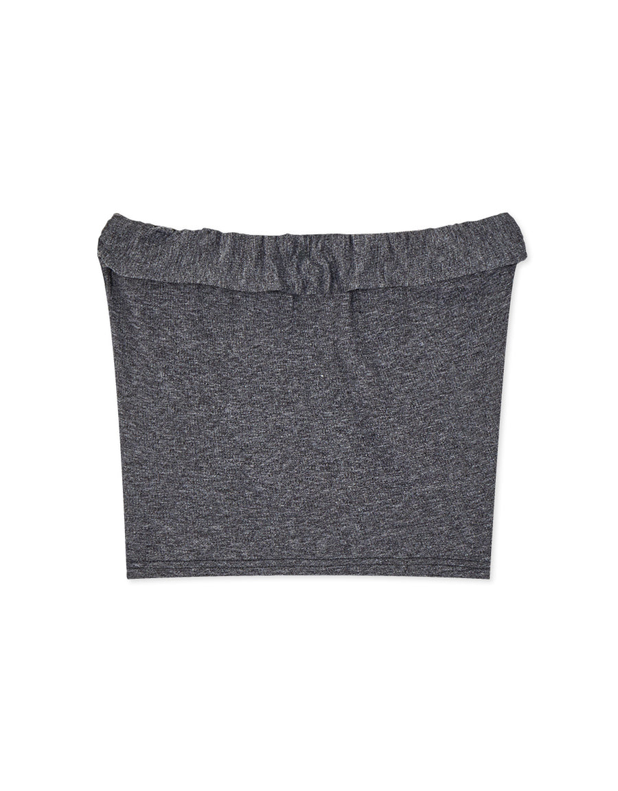 2 Way Plain Knitted Tube Top