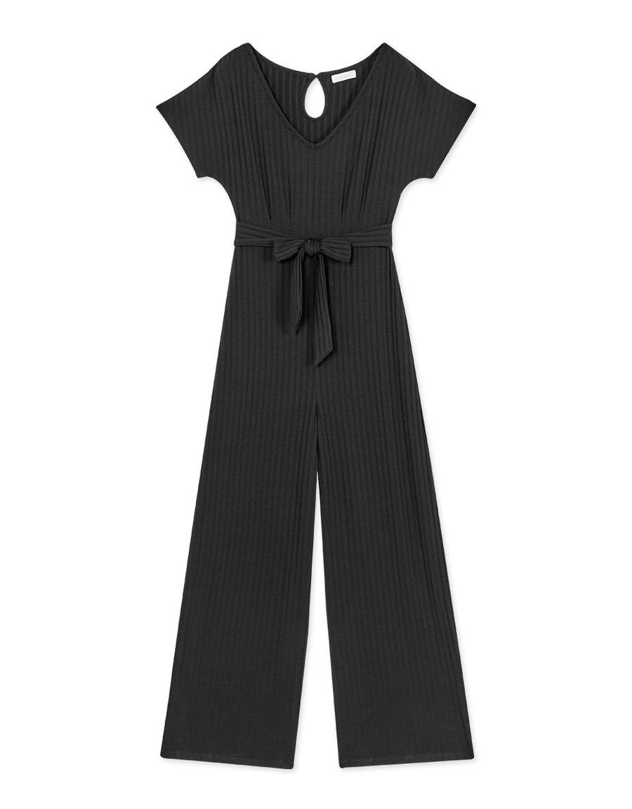 Textured Knitted Jumpsuit