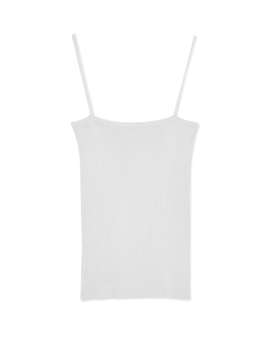 Thin Strap Ribbed Soft Camisole