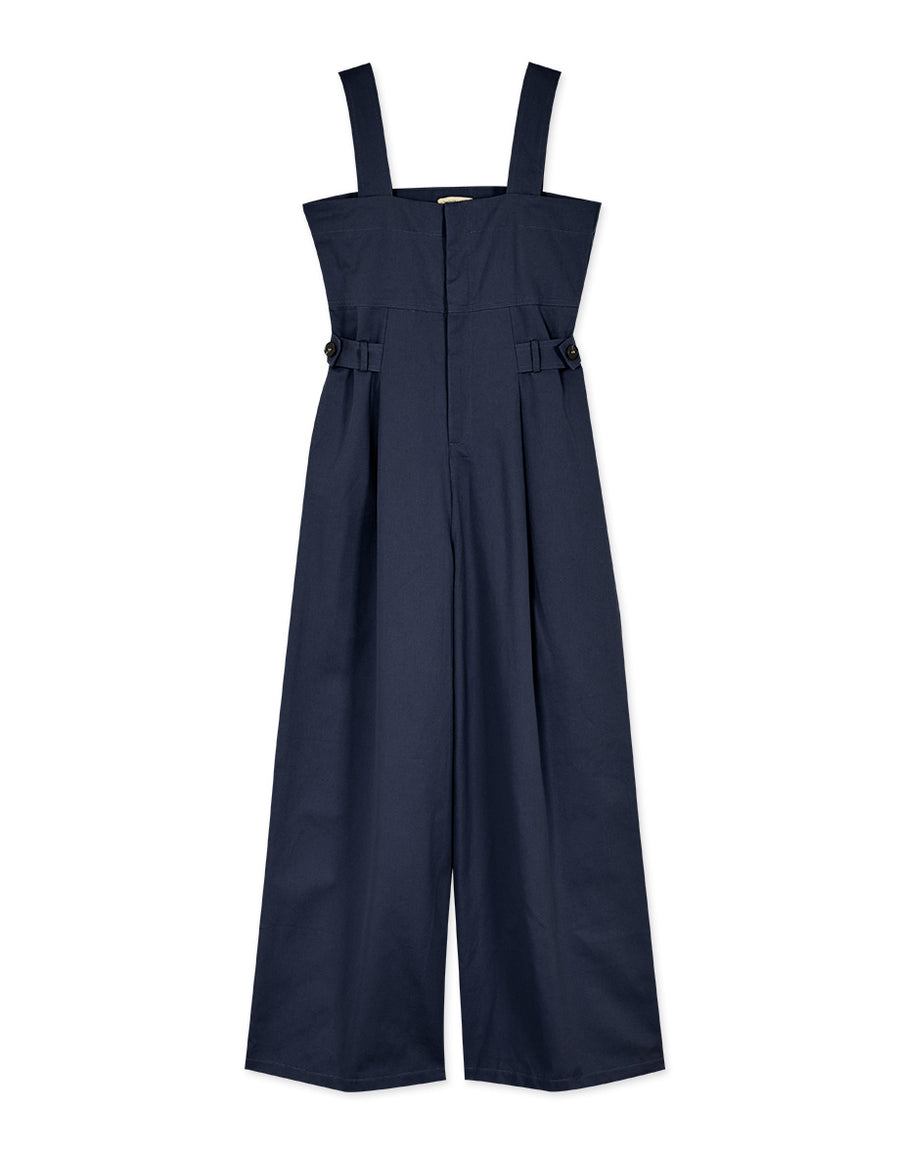 Thick Strap Tank Jumpsuit