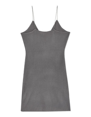 V-Neck Rib-Knit Cami Dress