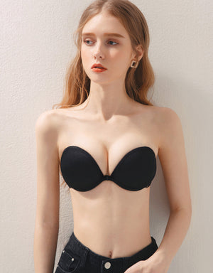 Cross Back Sexy Strapless Bra