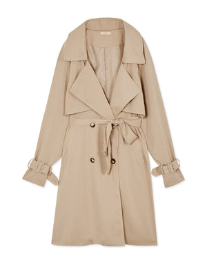 French Lapel Trench Coat