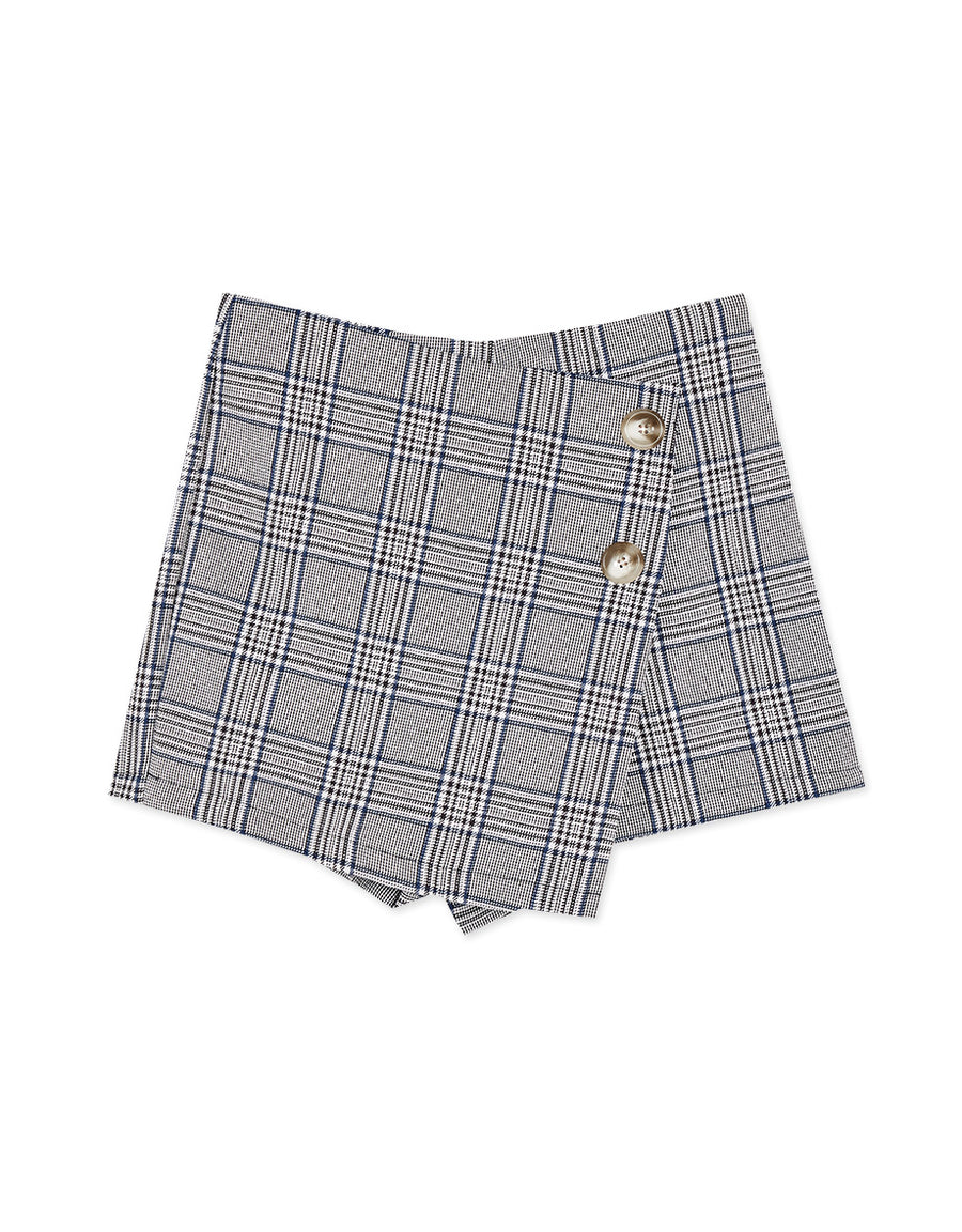 Minimalist Scottish Tartan Skort