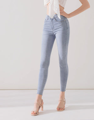 Cooling Plain Stretch Jeans