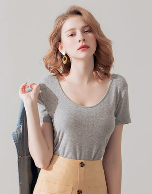 2Way Minimalist Comfy Cotton Top