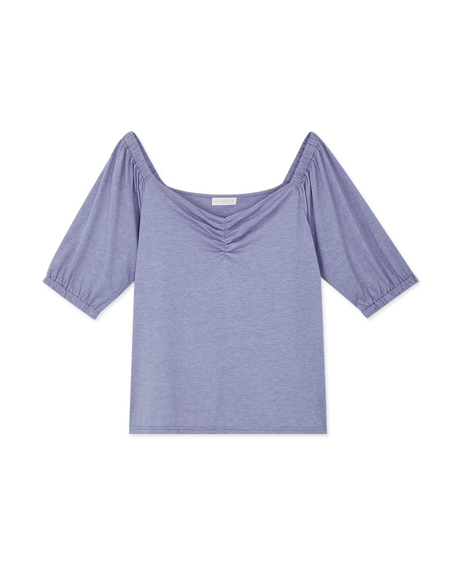 Multiple Way Front Scrunch Top
