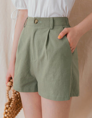 Minimalist Stretch Waist Shorts