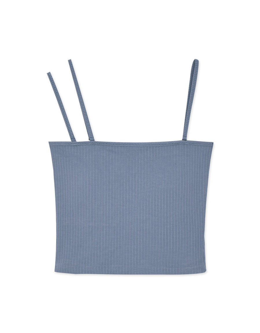 3Way Crop Ribbed Bra Top