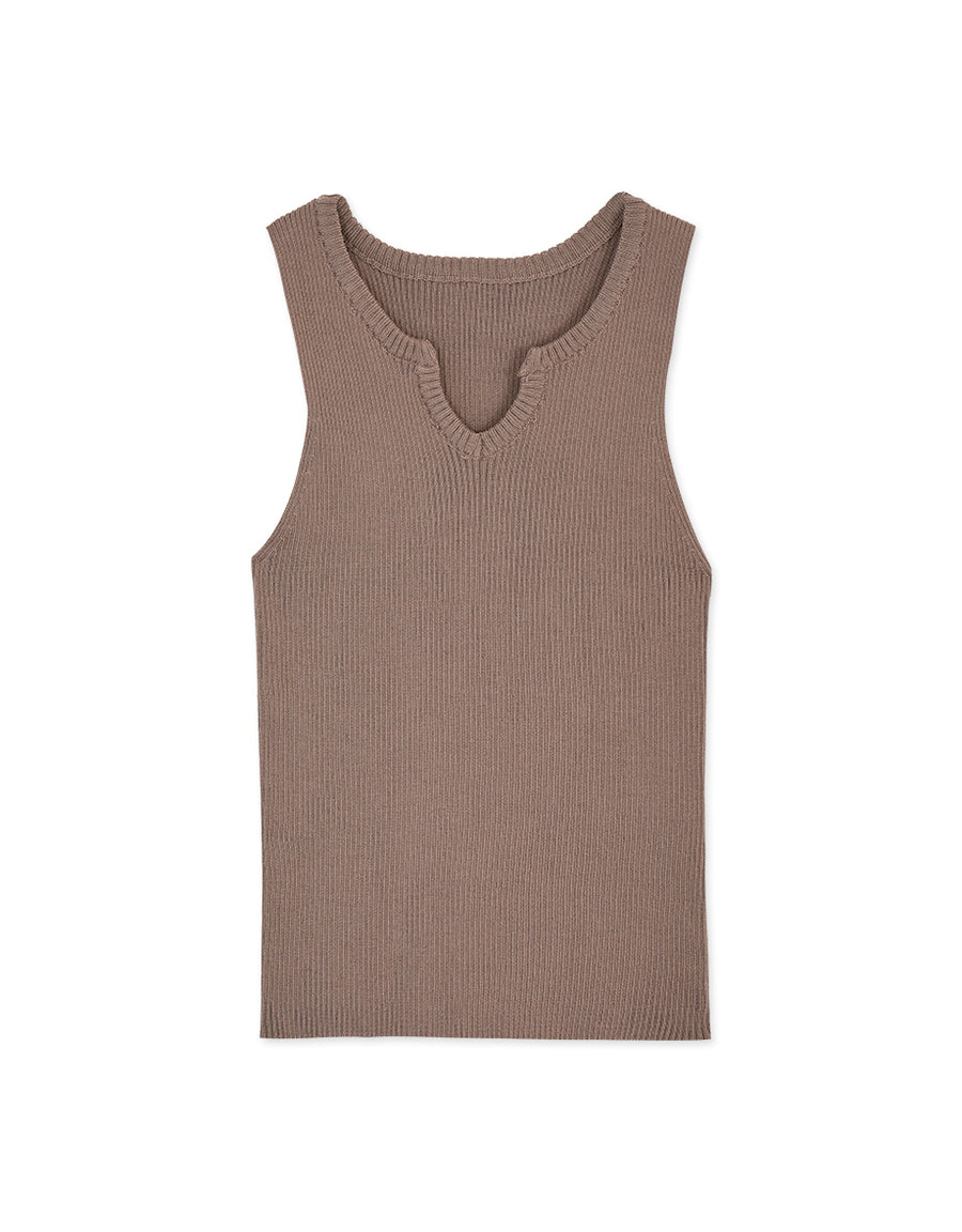 Little V Ribbed Tank Top
