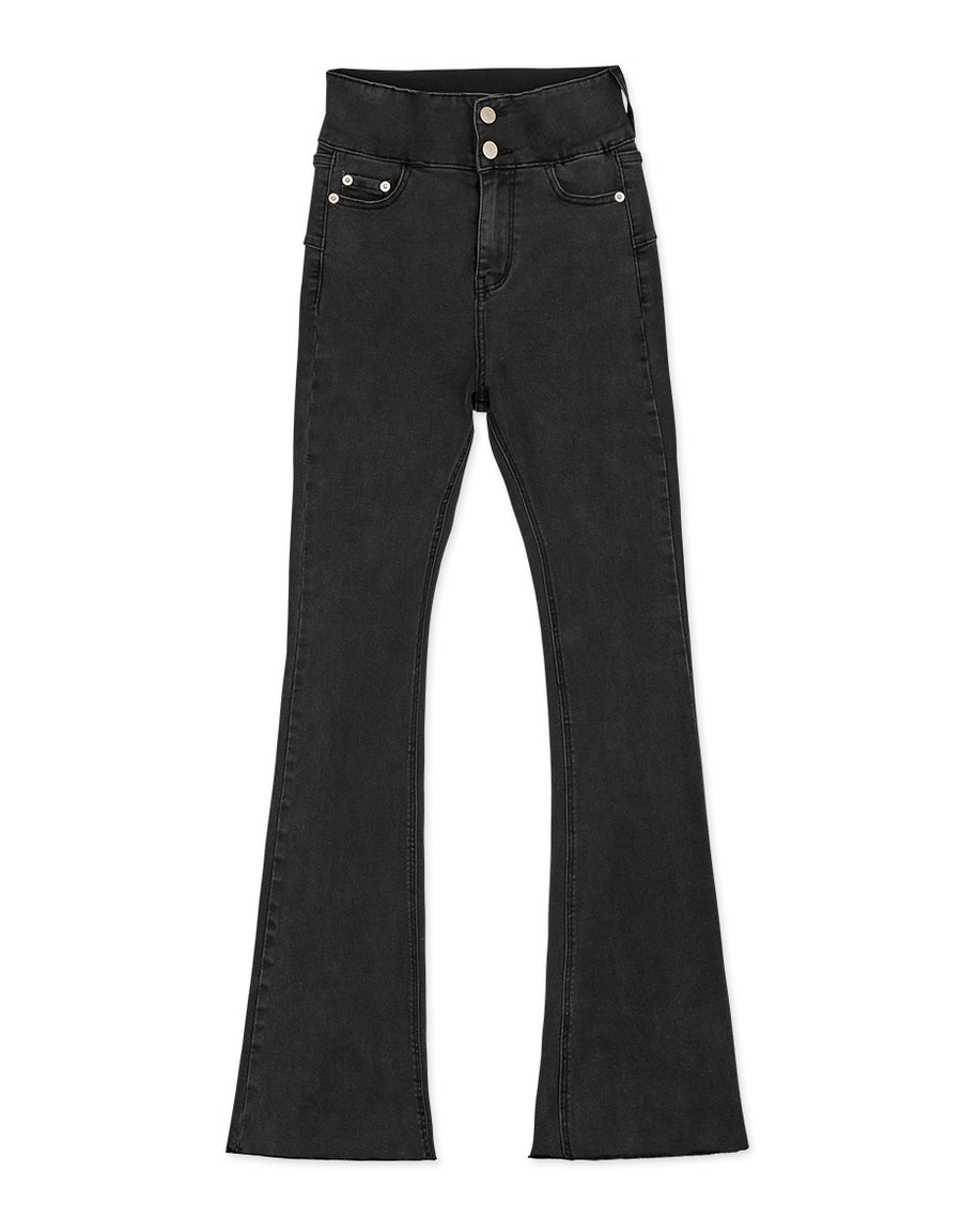 Regular Height - No Filter Shape-Up Slimming Denim Trumpet Pants