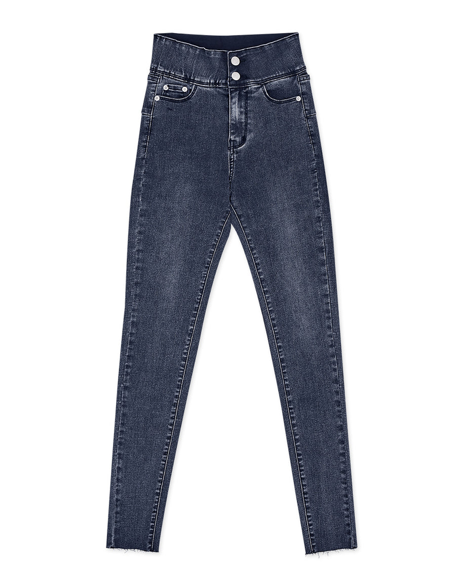 Petite Girl- No Filter Shape-Up Slimming Denim Pants