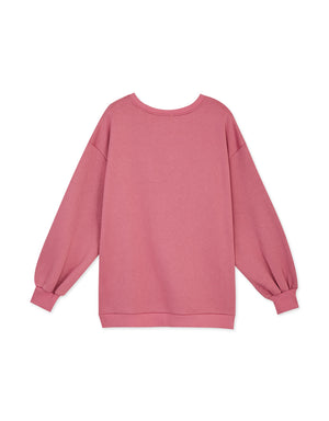 Oversized Bristled-Inner Sweater