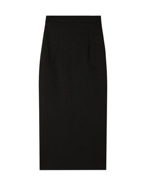 High Waisted Split Long Pencil Skirt