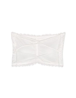 Criss-cross Lace Bandeau (with detachable bra pad)