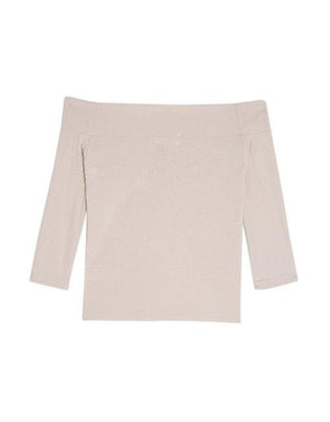 Off Shoulder Minimalist Top