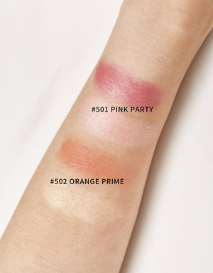 BEYOUTIFUL Dual Starlight Blush Palette-#501 Pink Party