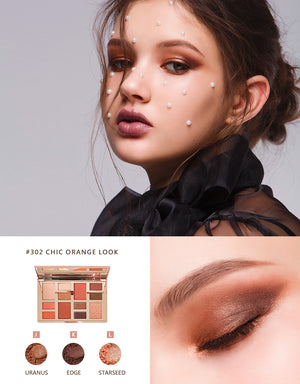 BEYOUTIFUL EYESHADOW PALETTE-#302 Chic Orange Look