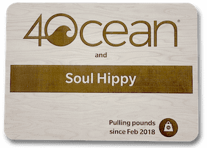 Partnered with 4Ocean since 2018