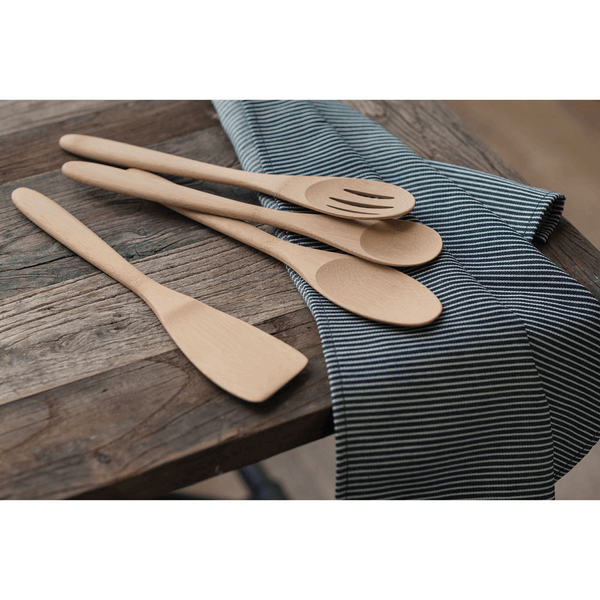 Organic Bamboo Essentials Utensil Set - Set of 4