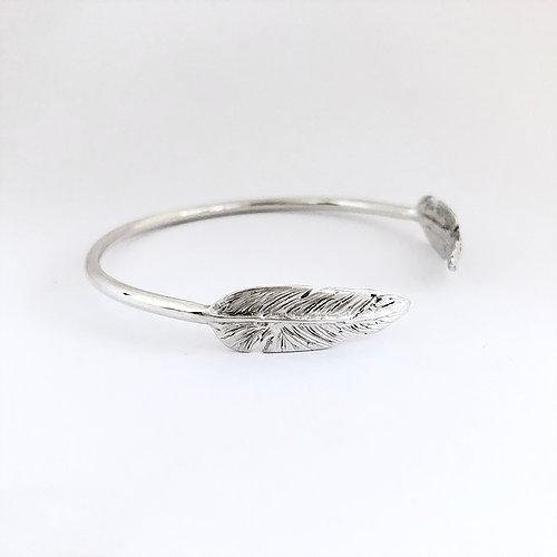Smoke and Ash Feather Cuff
