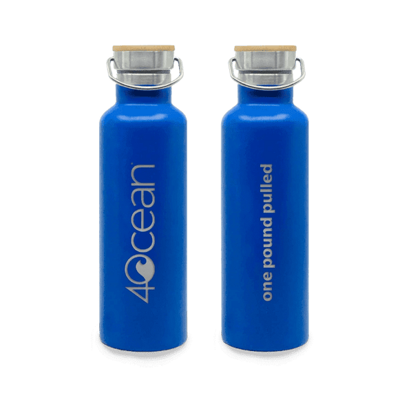 4OceanⓇ Water Bottle - Blue