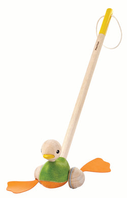 Plan Toys® Push Along Duck