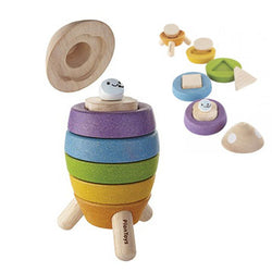 Plan Toys® Stacking Rocket